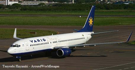 Varig Boeing 737 800